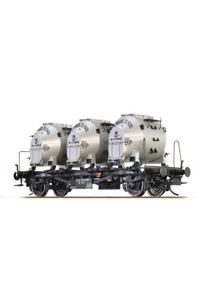 Brawa 37150 Вагон с контейнерами BTrhs 30 DB III 1/45