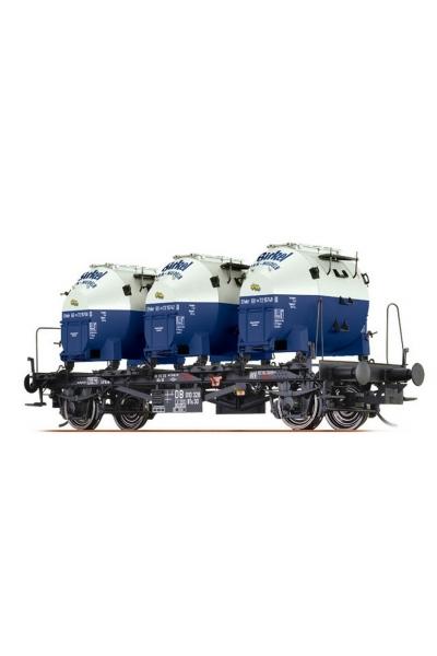 "Brawa 37151 Вагон с контейнерами BTs30 ""Birkel"" DB III 1/45"
