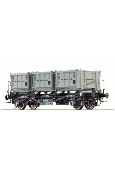 Brawa 37163 Вагон BTs 30 DB Epoche III 1/45