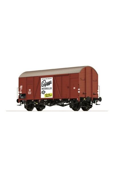 "Brawa 37182 Крытый вагон Gms 30 ""Oppeln"" ""Gogo Motorroller"" DB III 1/45"