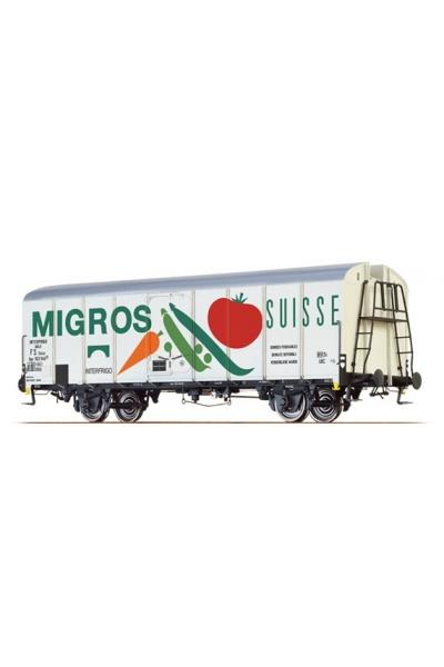 Brawa 37202 Вагон UIC 563 925 P Standard 1 Migros SBB/FS Epoche III 1/45