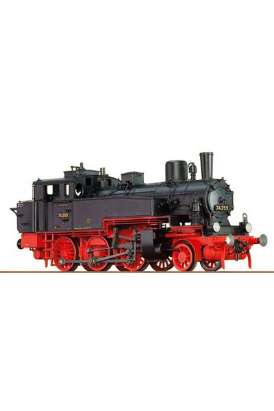Brawa 40350 Паровоз BR 74.0-2 DRG Epoche II 1/87
