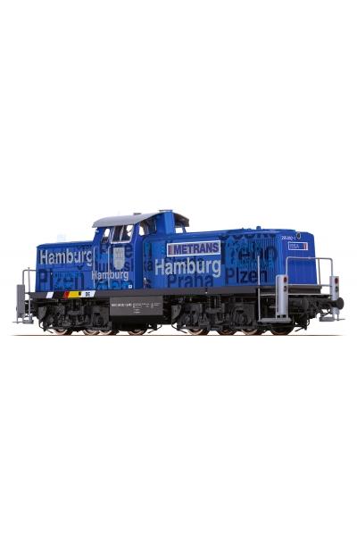 Brawa 41536 Тепловоз 295 9880 3295 092-1 Hamburg Metrans Epoche VI 1/87