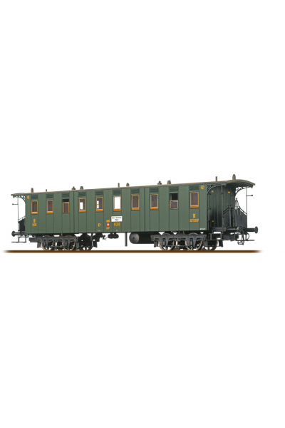 Brawa 45063 Вагон пассажирский C4 9311 SBB, Epoche II 1/87