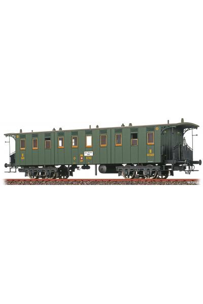 Brawa 45065 Вагон пассажирский C4 SBB Epoche II 1/87
