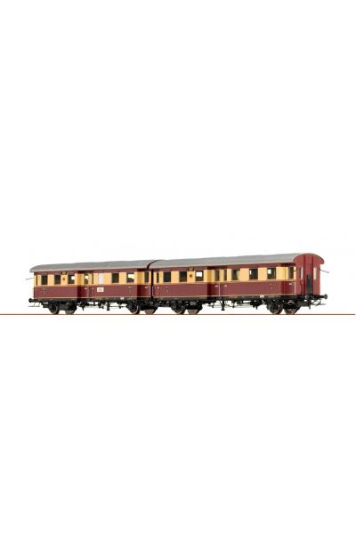 Brawa 45071 Набор вагонов EM 65 DRG Epoche II 1/87