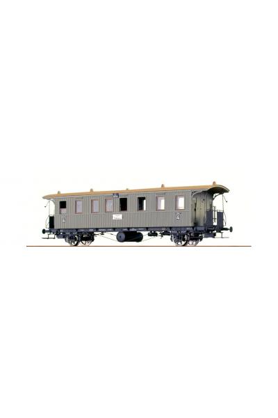 Brawa 45102 Вагон пассажирский 11014 K.W.St.E. Epoche I 1/87