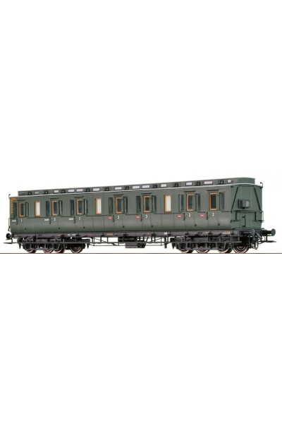 Brawa 45254  Вагон пассажирский 030 618 DB Epocha III 1/87