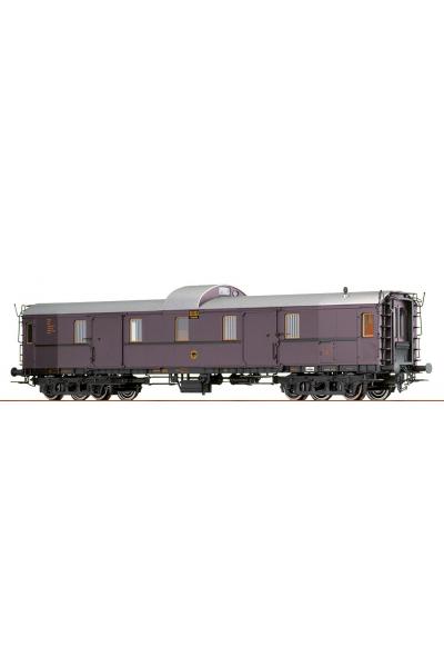 Brawa 45406 Вагон пассажирский Pw4u Rheingold DRG Epoche II 1/87