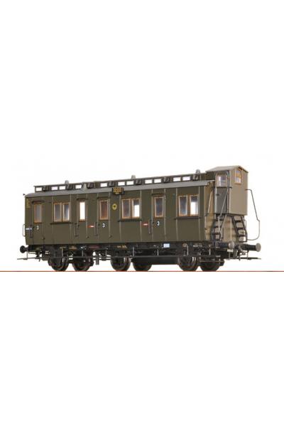 Brawa 45459 Вагон пассажирский C3u Pr 04/30 Halle 59900 DRG Epoche II 1/87