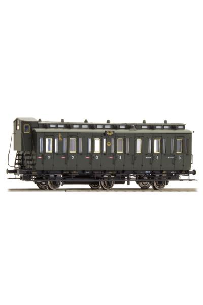 Brawa 45465 Вагон пассажирский C3 Essen 57134 DRG Epoche II 1/87