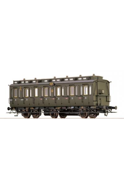 Brawa 45466 Вагон пассажирский C3 Essen 58266 DRG Epoche II 1/87