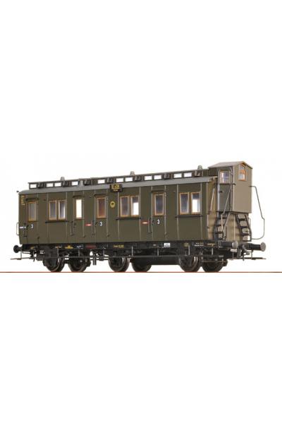 Brawa 45467 Вагон пассажирский C3tr Essen 61456 DRG Epoche II 1/87