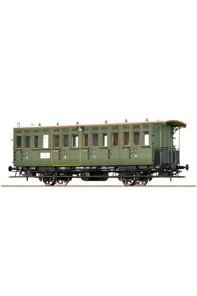 Brawa 45607 Вагон пассажирский A 299 21 класса K.W.St.E. Epoche I 1/87