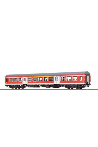 Brawa 46016 Вагон пассажирский ABy 407.1 DB AG Epoche V 1/87