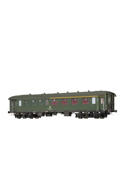 Brawa 46156 Вагон пассажирский AByse-630 DB Epoche IV 1/87