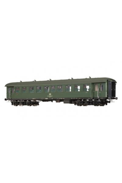 Brawa 46158 Вагон пассажирский B4ye-36/50 DB Epoche IV 1/87