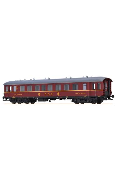 Brawa 46169 Вагон пассажирский WL4u-36/50 DSG Epoche III 1/87