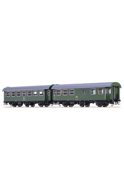 Brawa 46311 Вагон пассажирский B3yge/BD3yge DB Epoche IV 1/87