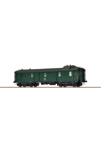 Brawa 46418 Вагон пассажирский Due 949 51 80 92-43 311-0 DB Epoche IV 1/87