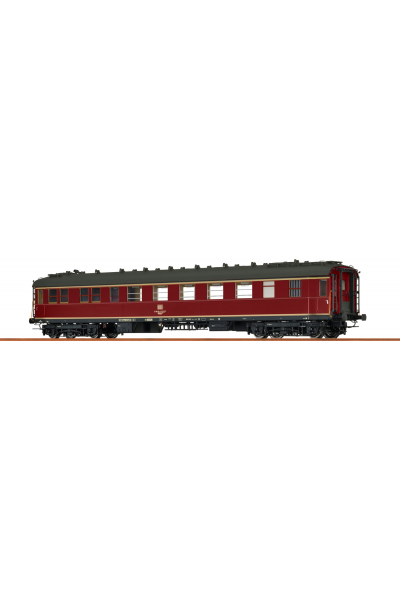 Brawa 46420 Вагон пассажирский WgoK 822 51 80 89-43 522-7 DB Epoche IV 1/87