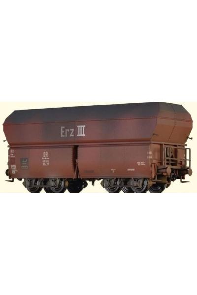Brawa 47567 Вагон для перевозки  OOtz 23 DB Epoche III 1/87