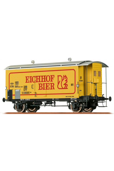 Brawa 47869 Вагон K2 Eichhof Bier 513 830 SBB Epoche III 1/87