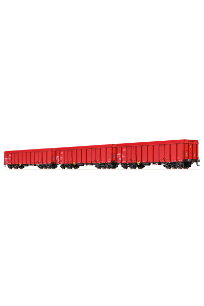 Brawa 48504 Набор вагонов Eaos DB AG Epoche VI 1/87