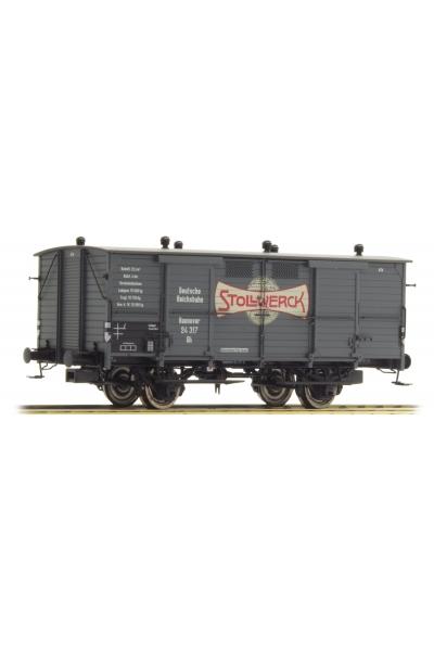 Brawa 48660 Вагон Milchwagen Stollwerck DRG Epoche II 1/87