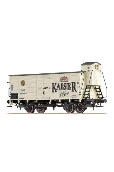 Brawa 49084 Вагон G Kaiser Bier OBB Epoche III 1/87