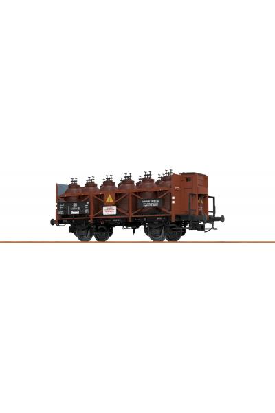 Brawa 49300 Вагон для перевозки кислот Z [P] 546 504 DB Epoche III 1/87