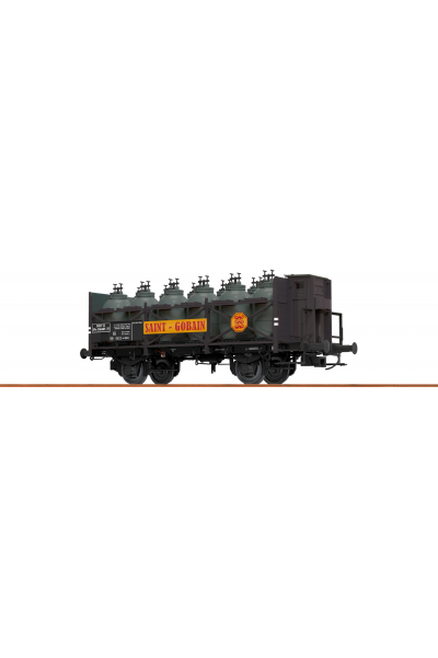 Brawa 49308 Вагон для перевозки кислот Z [P] 506 485 SNCF Epoche III 1/87