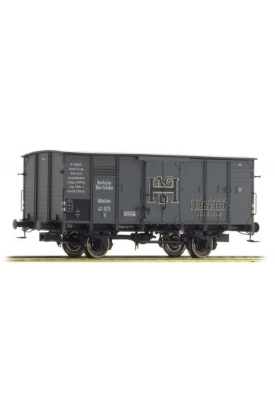 Brawa 49708 Вагон G10 Hohenzollern DRG Epoche II 1/87