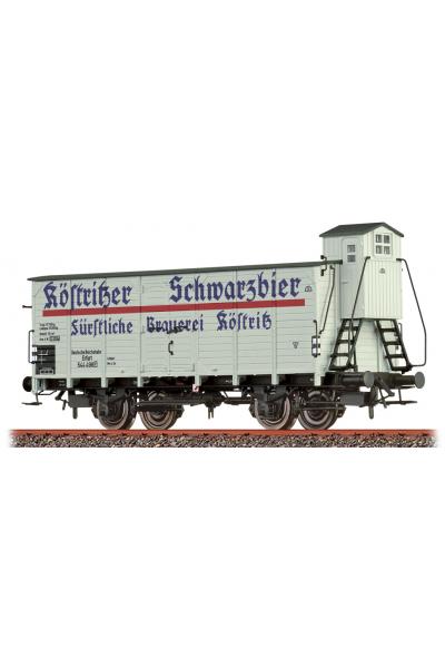 Brawa 49782 Вагон G10 544 498 Kostritzer Schwarzbier DRG Epoche II 1/87