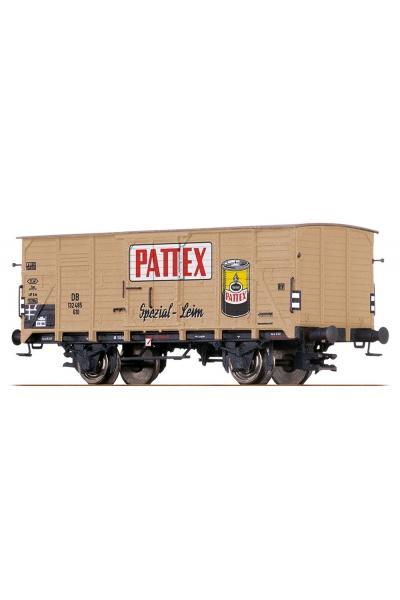 Brawa 67423 Вагон G10 Pattex DB Epoche III 1/160