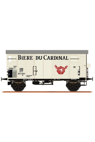 Brawa 67865 Вагон K2 510728 Biere du Cardinal SBB Epoche III 1/160