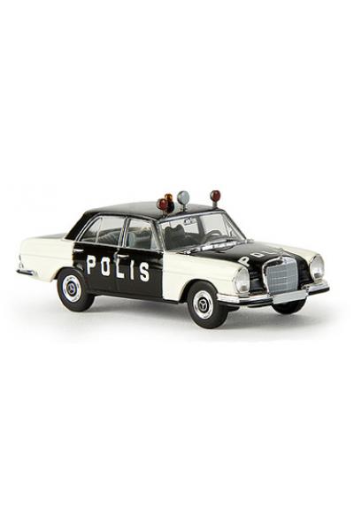 Brekina 13105 Автомобиль MB 280 SE W 108 POLIS 1/87