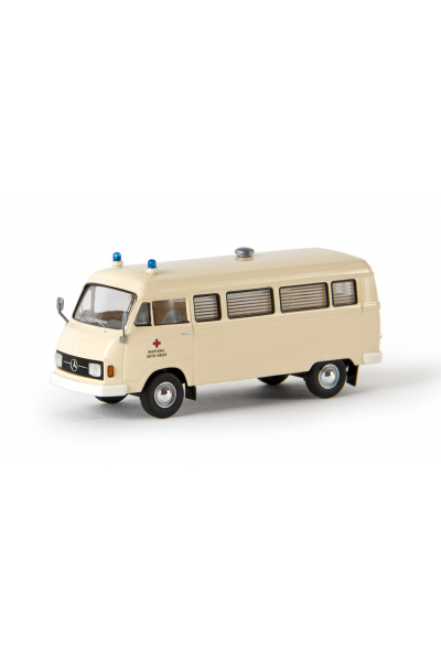 Brekina 13253 Автомобиль MB L 206 D DRK Rescue 1/87