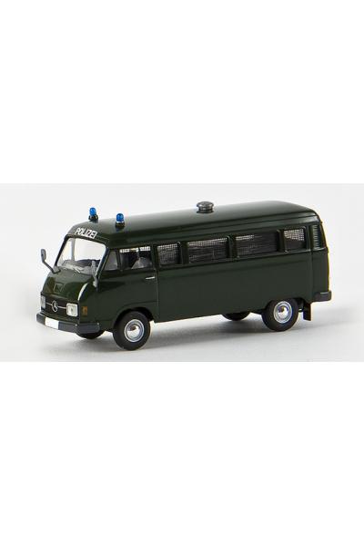 Brekina 13254 Автомобиль MB L 206 D Kombi Polizei 1/87