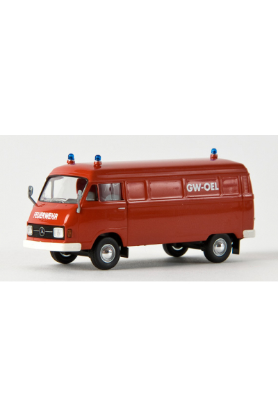 Brekina 13307 Автомобиль MB L 206 D Feuerwehr 1/87