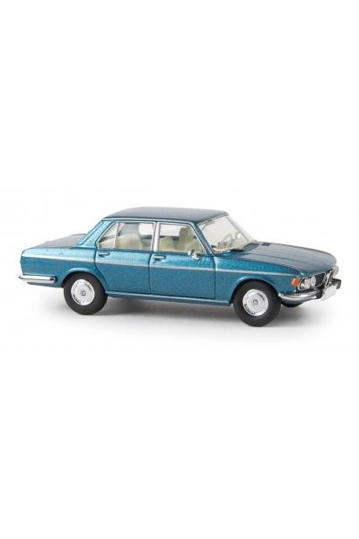 Brekina 13605 Автомобиль BMW 3.0 Si синий металлик 1/87