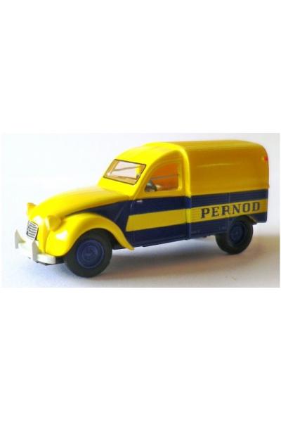 Brekina 14121 Автомобиль Citroen Van 2 CV AZU 'Pernod 1/87