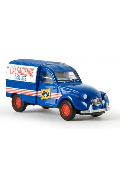 Brekina 14136 Автомобиль Citroen L Alsacienne Biscuits 1/87