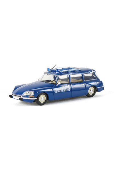 Brekina 14206 Автомобиль Citroen DS Break Gendarmerie 1/87