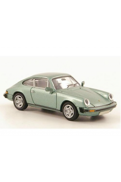Brekina 16300 Автомобиль Porsche 911 Coupe Modell 1976 1/87