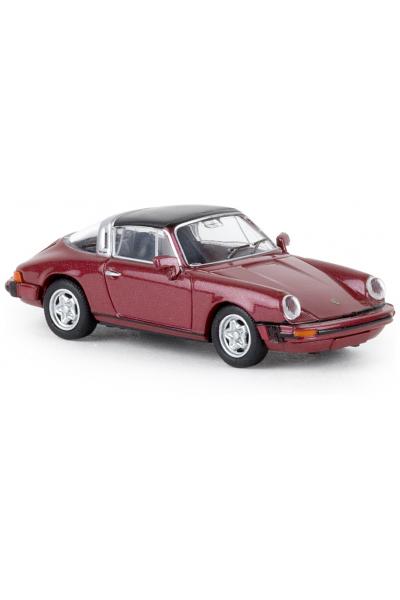 Brekina 16361 Автомобиль Porsche 911 G targa 1/87