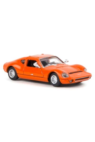 Brekina 27403 Автомобиль Melkus RS1000 оранжевый 1/87