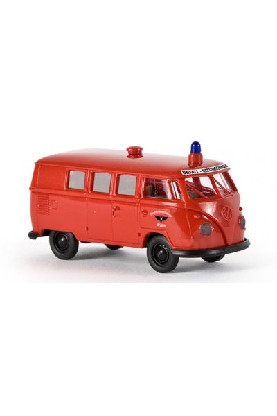 Brekina 31527 VW Kombi T1b BFW Koln Rettungswagen Epoche III 1/87