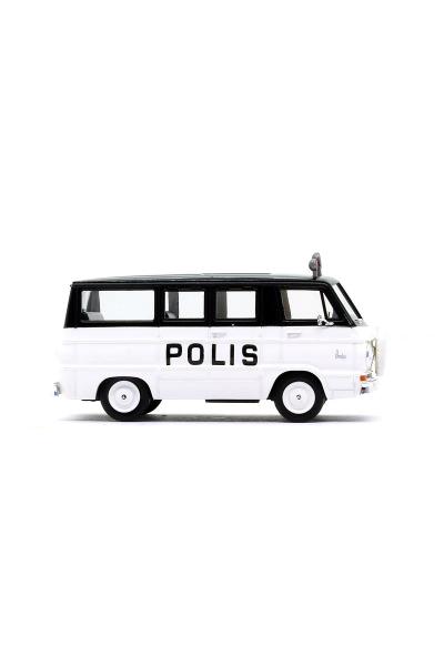 Brekina 34303 Автомобиль Dodge A 100 Bus Polis 1/87