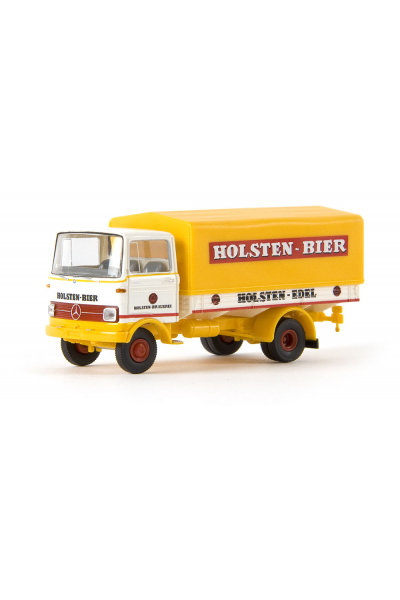 Brekina 48509 Автомобиль Mercedes Benz LP 608 PP Holsten 1/87